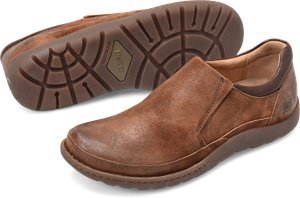 Rust/Brown Combo Born Nigel Slip On
