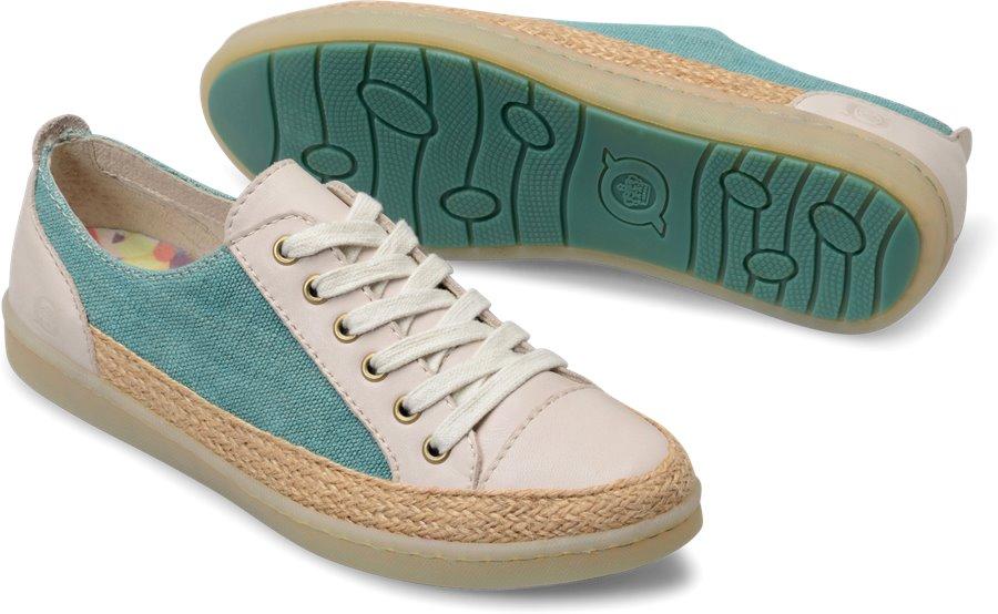 Born Corfield : Turquoise Cream - Womens