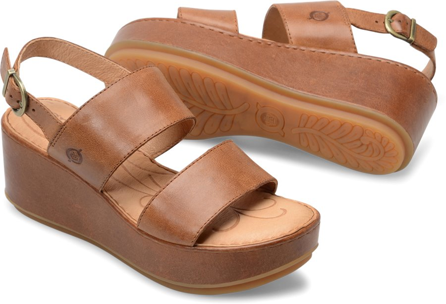 Born Silay : Brown - Womens