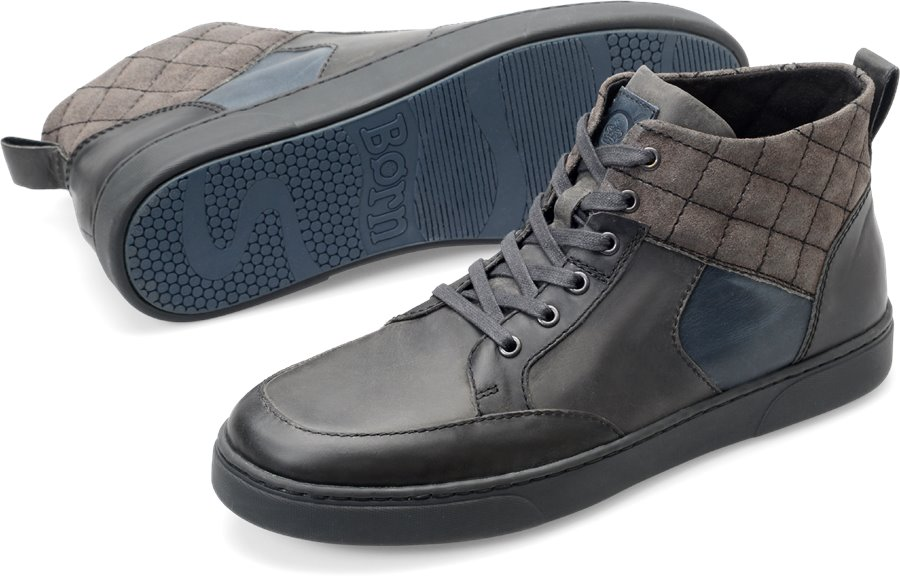 Born Jacques : Early Grey/Carbone - Mens
