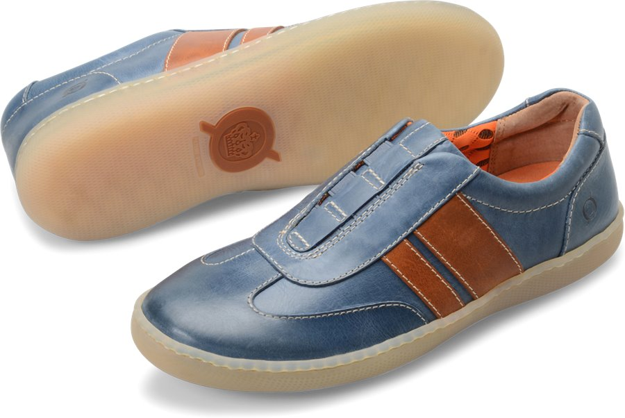 Born Maros : Dark Blue Orange - Mens