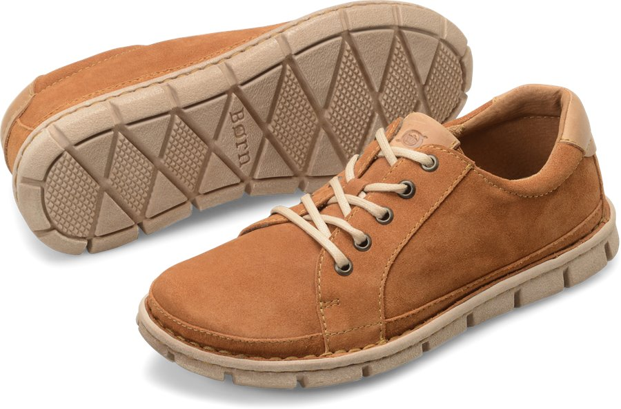 Born Salem : Butterscotch Suede - Mens