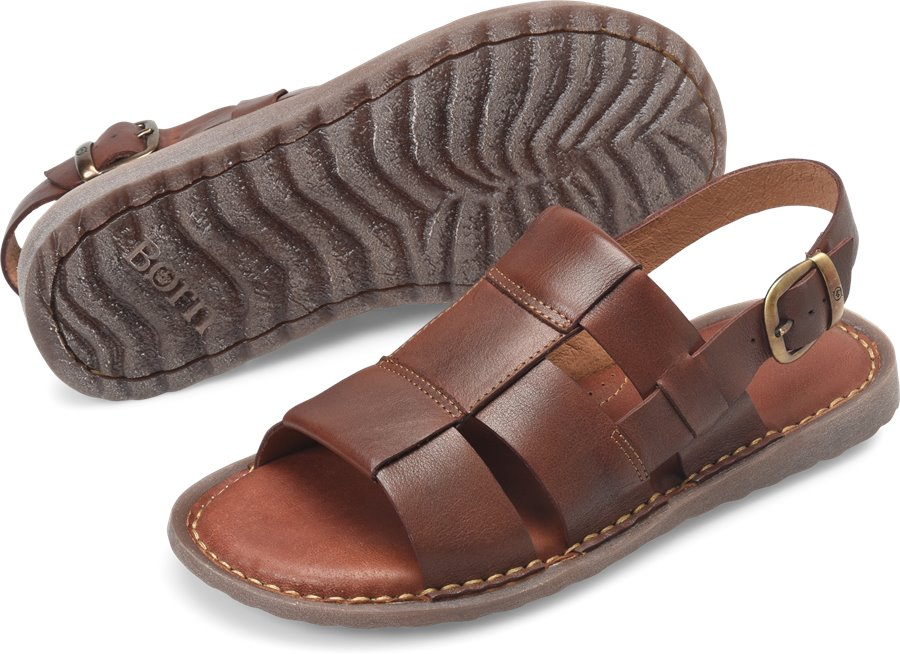 Born Surf : Red/Brown - Mens