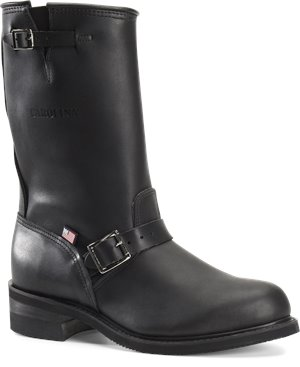 Black Oiltan Carolina Saddleback Steel Toe