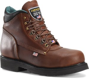 Amber Gold Carolina Kodiak Mid Steel Toe