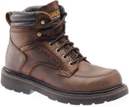 Dark Brown Carolina Apprentice Mid Steel Toe