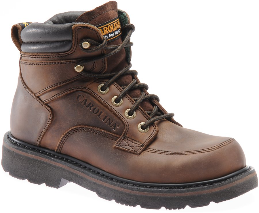 Carolina Apprentice Mid Steel Toe : Dark Brown - Mens
