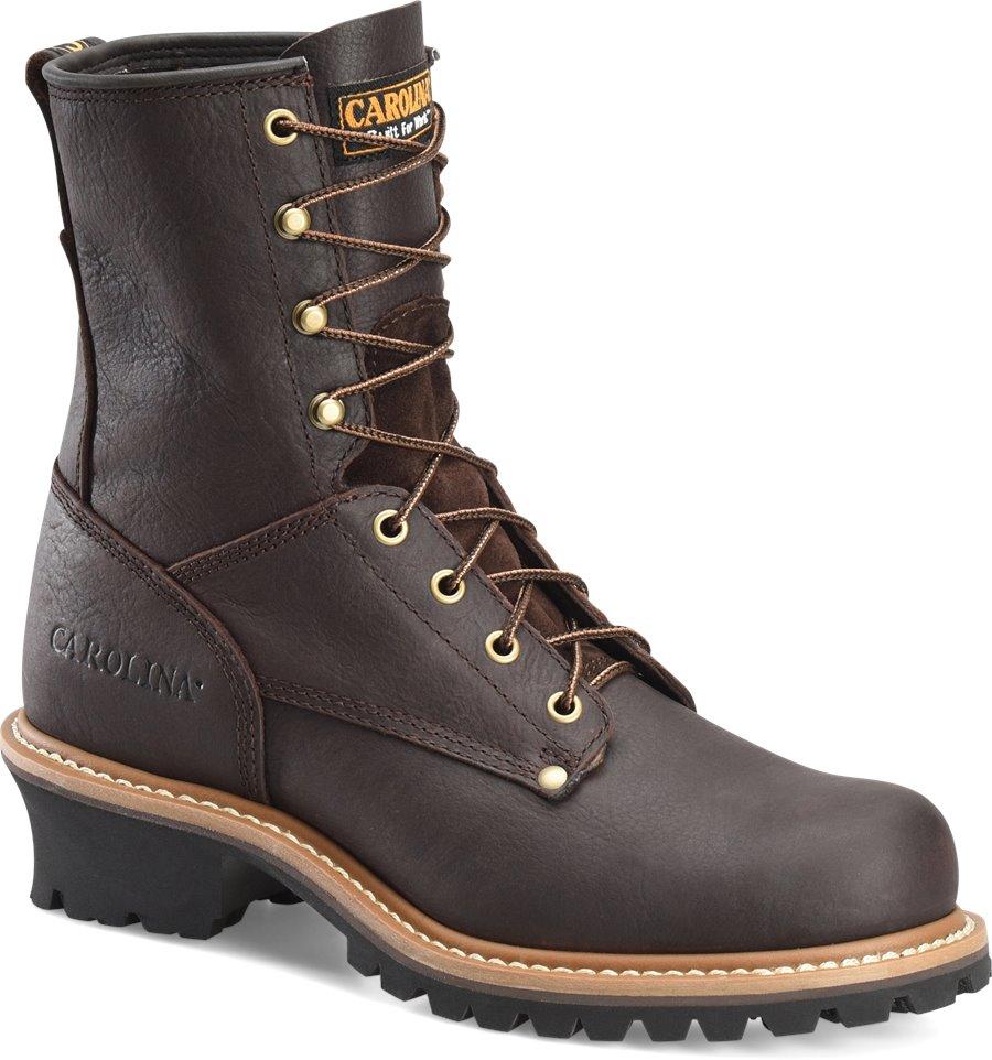 Carolina 8 Inch Steel Toe Logger : Briar Pitstop - Mens