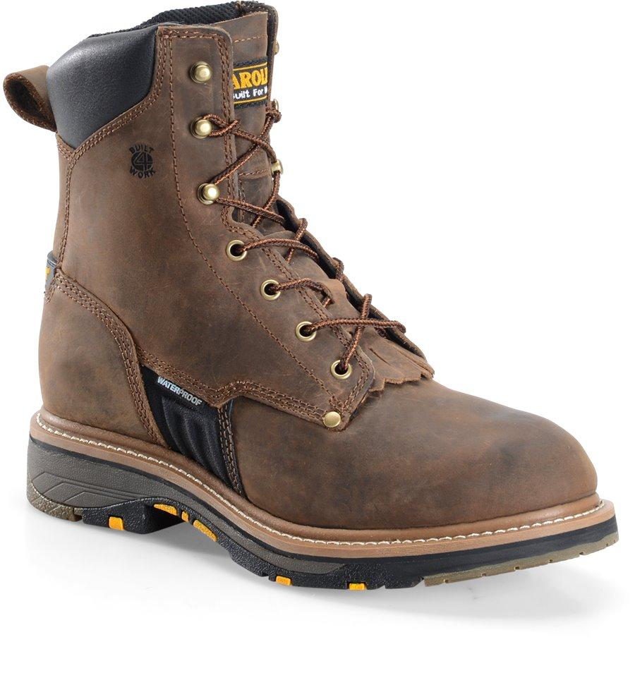 Carolina 8 Inch Workflex Work Boot : Dark Brown - Mens