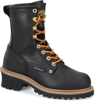 Black Carolina Black Steel Toe Logger