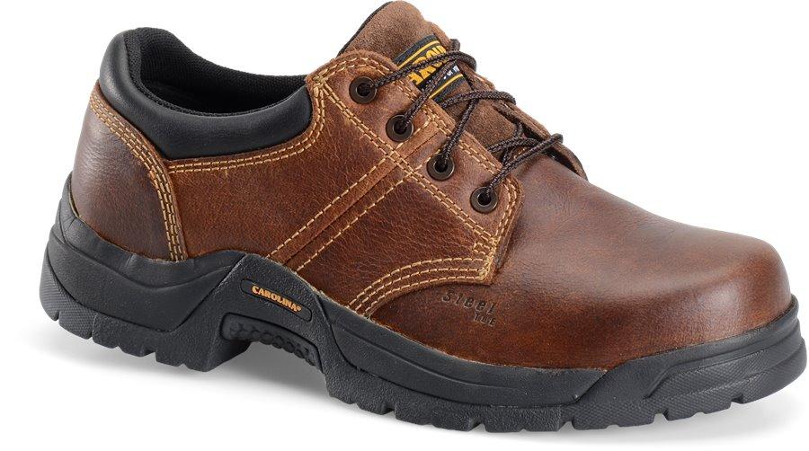 Carolina Steel Broad Toe ESD Oxford : Dark Brown - Mens