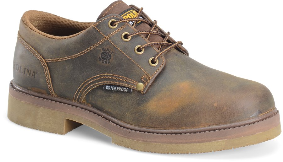 Carolina Smooth Sole Steel Toe Oxford : Old Town Folklore - Mens