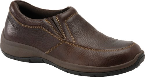 Dark Brown Carolina AeroGrip Casual Slip-On
