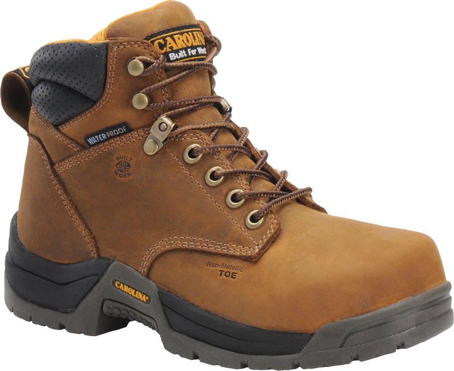 Carolina 6 WP Composite Toe Work Boot : Copper - Womens