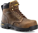Carolina Womens Comp Toe Boot in Dark Brown