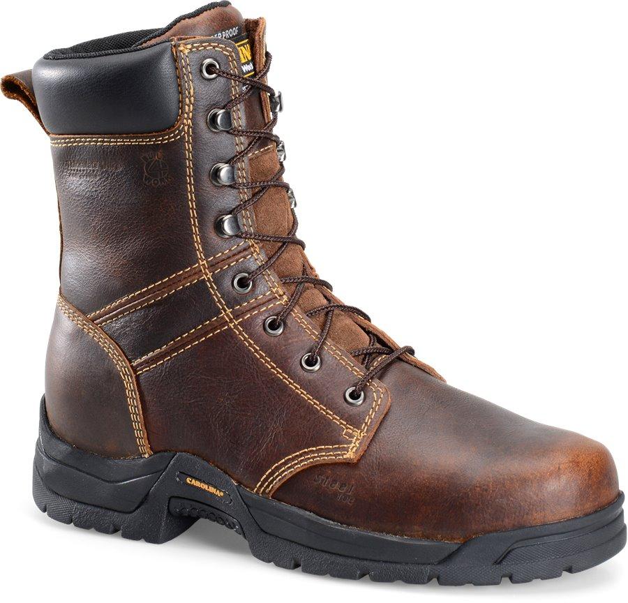 Carolina 8 Inch Broad Steel Toe Work Boot : Dark Brown - Mens