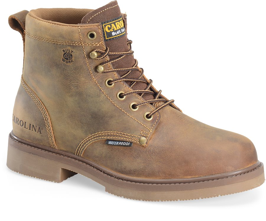 Carolina 6 Inch Smooth Sole Waterproof : Old Town Folklore - Mens