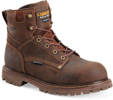 Khartoum Cigar Carolina 6 Inch Insulated WP Comp Toe Work Boot