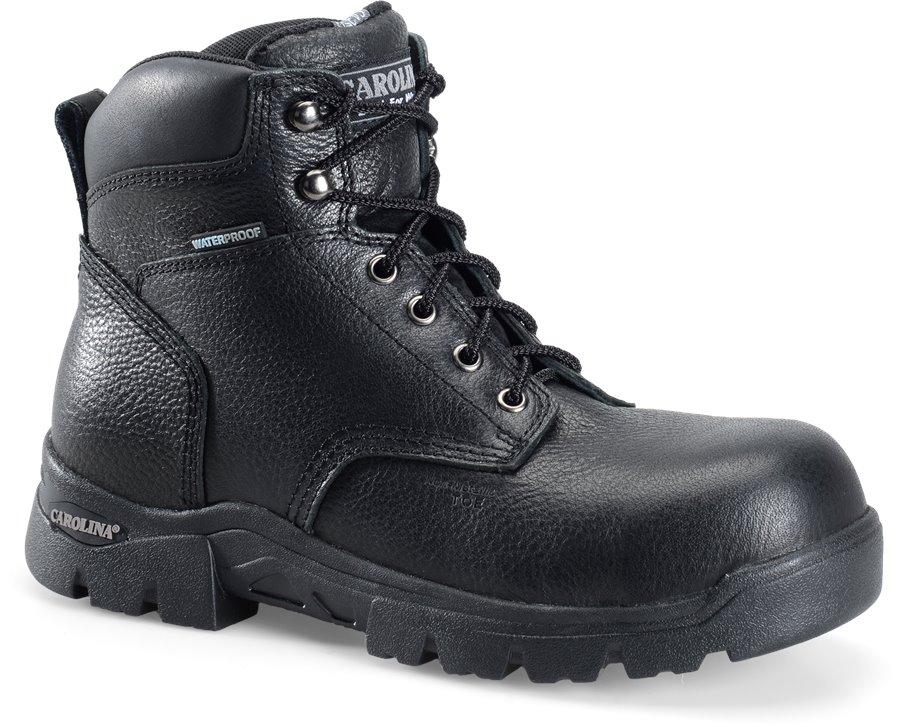 Carolina 6 Inch WP Composite Toe Work Boot : Black - Mens