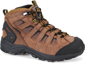 Dark Brown Carolina 4X4 WP EH SR Carbonfiber Toe Hiker