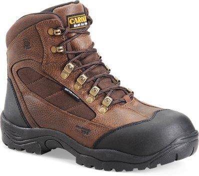 "Brown Carolina 6"" Waterproof Comp Toe Hiker"