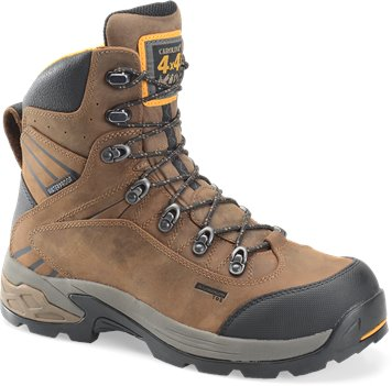 "Brown Carolina 7"" WP 4X4 Aluminum Toe Hiker"