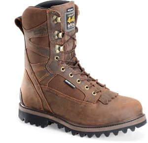 Medium Brown Carolina 10 Inch WP 800G ST Work Boot