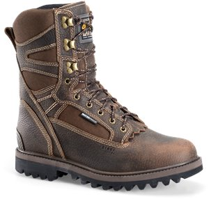 Dark Brown Carolina 10 InWP ST Work Boot
