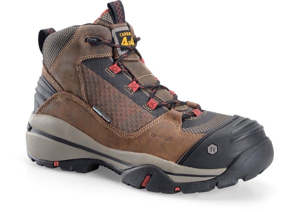 Carolina 5 Inch WP Composite Toe 4x4 Hiker : Dark Brown - Mens