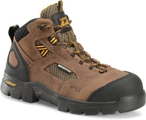Dark Brown Carolina Mens WP Composite Toe Hiker