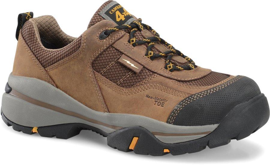 Carolina CompToe Non Metallic Oxford Hiker : Dark Brown - Mens