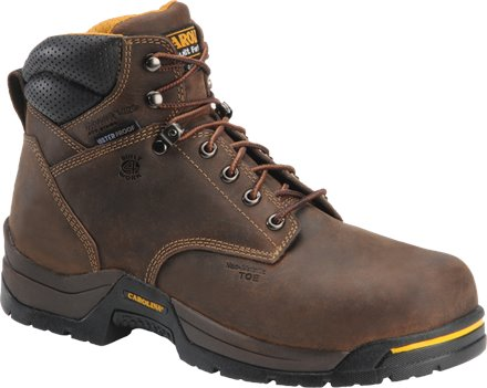 Dark Brown Carolina 6 IN Soft Toe Hiker