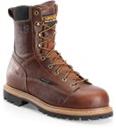 Carolina 8 WP Lace to Toe Comp Toe Work Boot in Medium Brown