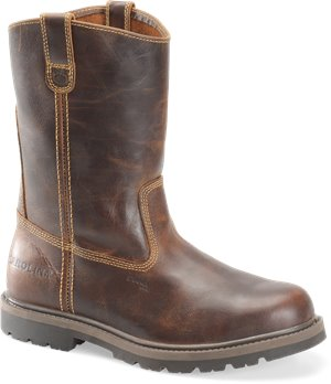 Borris Tan Carolina Unlined Steel Toe Ranch Wellington