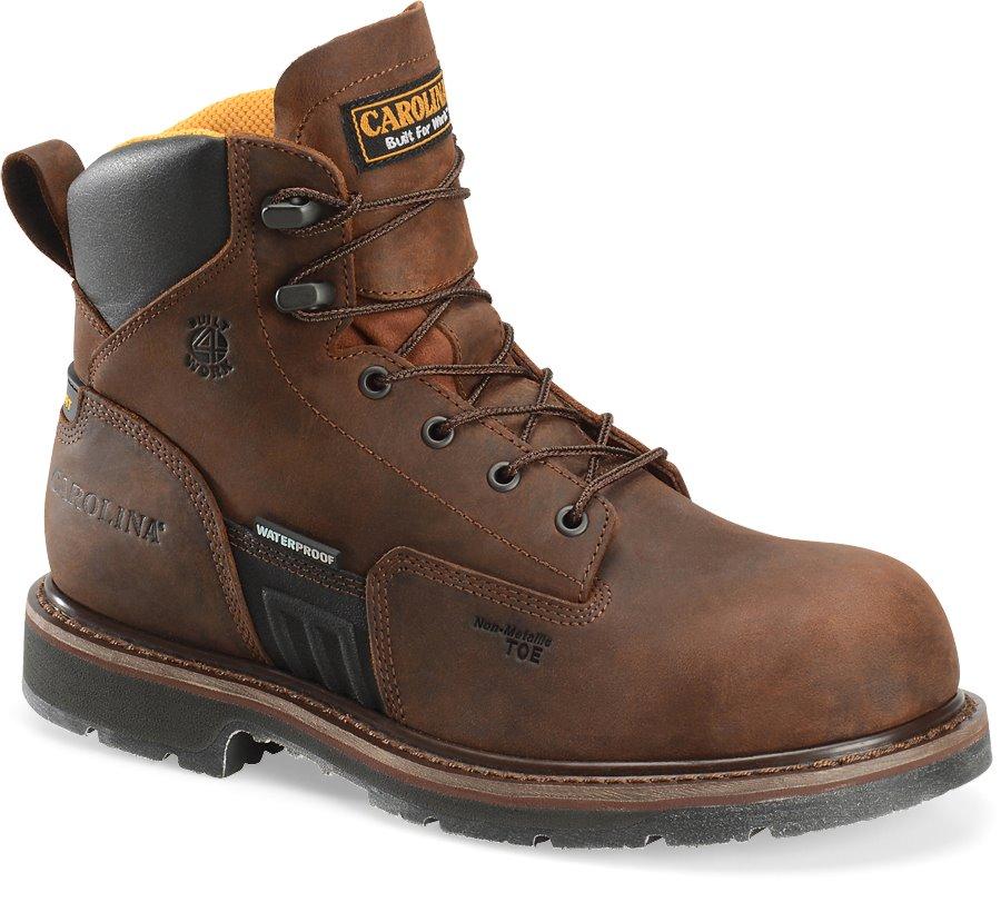 Carolina Waterproof Composite Toe : Dark Brown - Mens