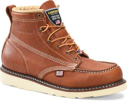 Tabacco Carolina 6 Inch Domestic Moc Toe Wedge