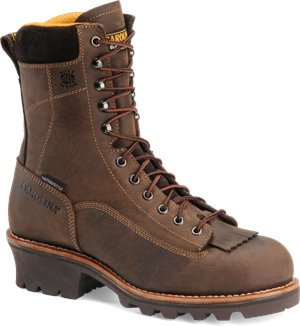 Crazy Horse Carolina 8 Inch Soft Toe Waterproof Logger