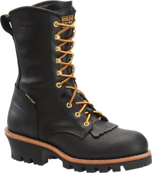 Black Carolina 10 Inch Insulated GORE-TEX ST Logger