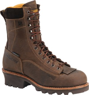 Gaucho Crazy Horse Carolina 8 Inch Waterproof Composite Lace-to-Toe Logger