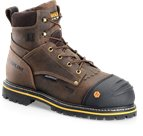 Carolina 6 Inch WP CompToe Grizzly  in Medium Brown