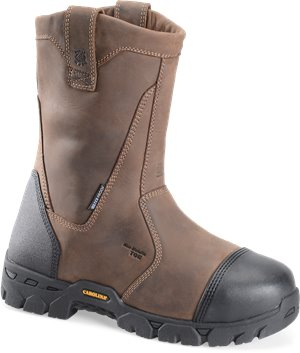 Dark Brown Carolina Composite Toe  Wellington