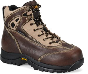 "Bright Chestnut Rage Carolina 6"" MetGuard Comp.Toe Hiker"