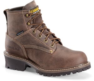 Dark Brown Carolina 6 Inch Waterproof Logger