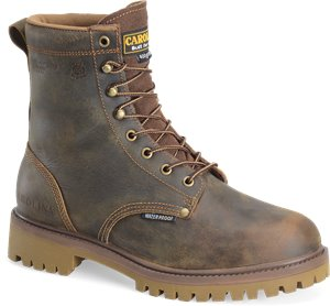 Medium Brown Carolina 8 Inch Steel Toe 400G WP  BOOT