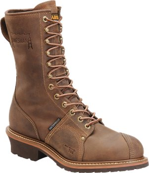Cork Harness Carolina 10 Inch Waterproof Linesman Boot