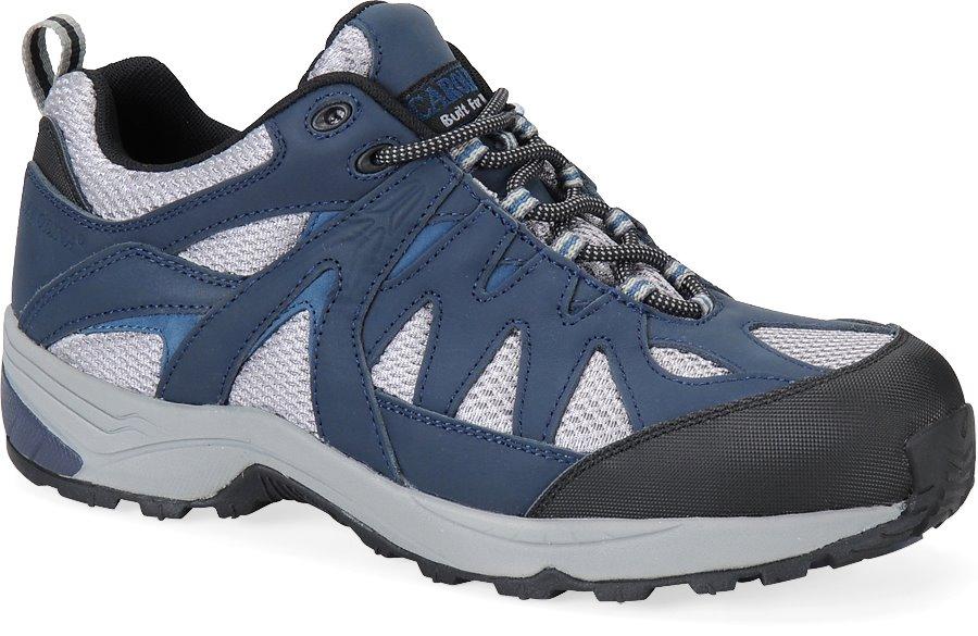 Carolina Aluminum Toe Athletic : Gray/Blue - Mens