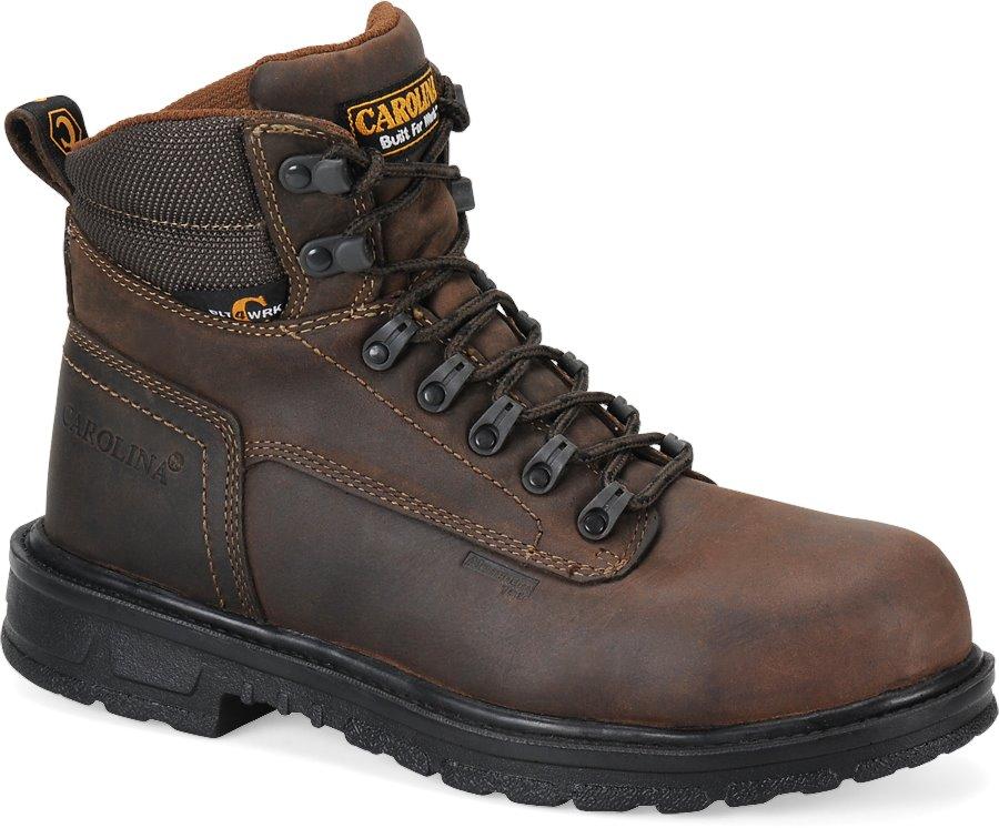 Carolina 6 Inch ESD Boot : Dark Brown - Mens