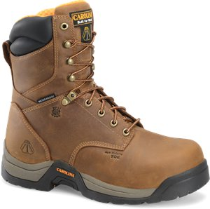 Dark Brown Carolina 8 In Puncture Resisting Boot