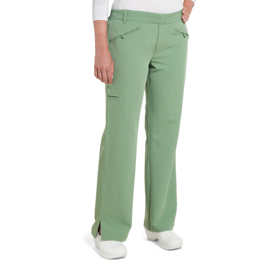 Nurse Mates Bethany Pants : Basil - Womens