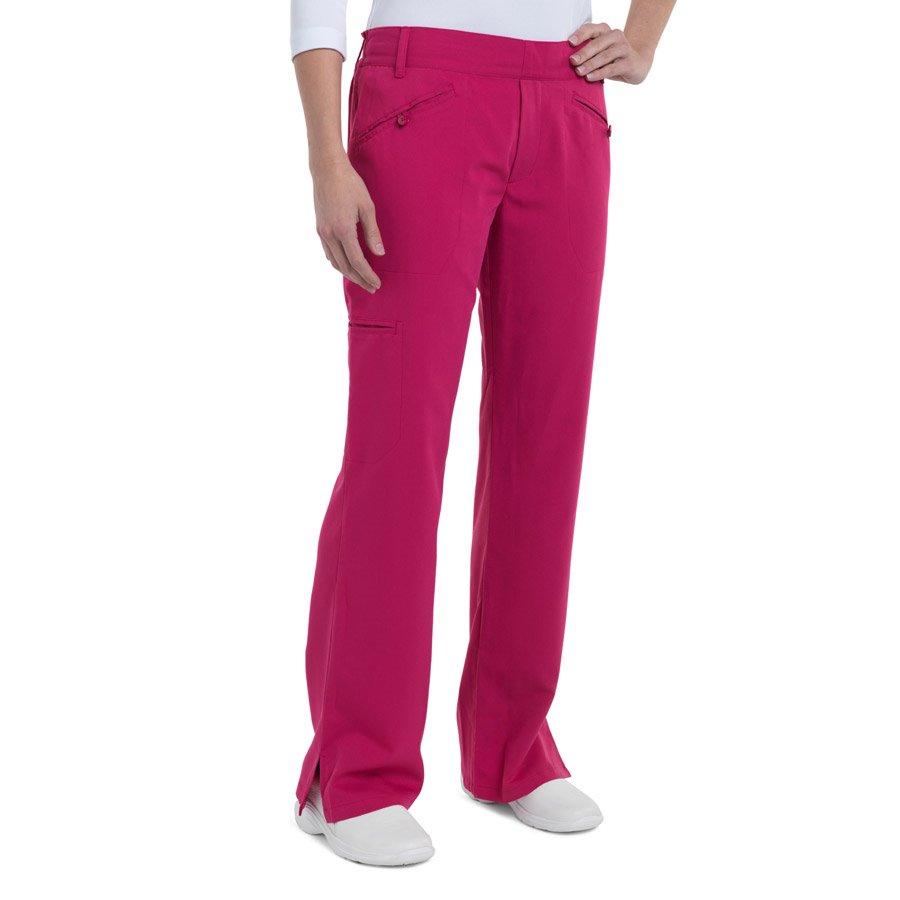 Nurse Mates Bethany Pants : Raspberry - Womens